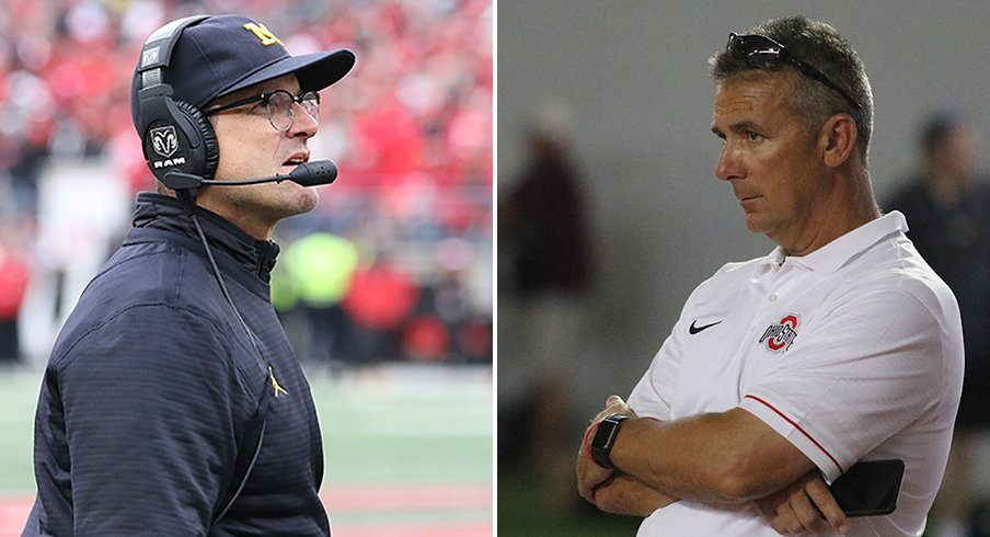 Urban Meyer and Jim Harbaugh have seen their share of battles on and off the field.