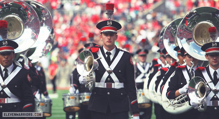 The Ohio State University Marching Band Will March in the