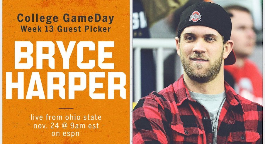Bryce Harper will be the guest picker.