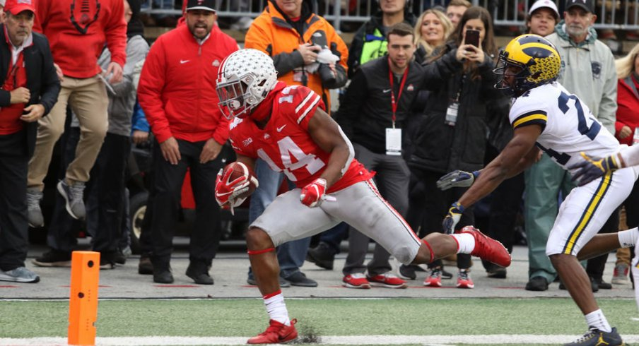 Ohio State slot receivers K.J. Hill and Parris Campbell had big days against Don Brown's defense.