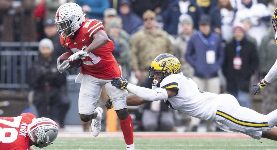 Parris Campbell torched Michigan for 192 receiving yards and two touchdowns.
