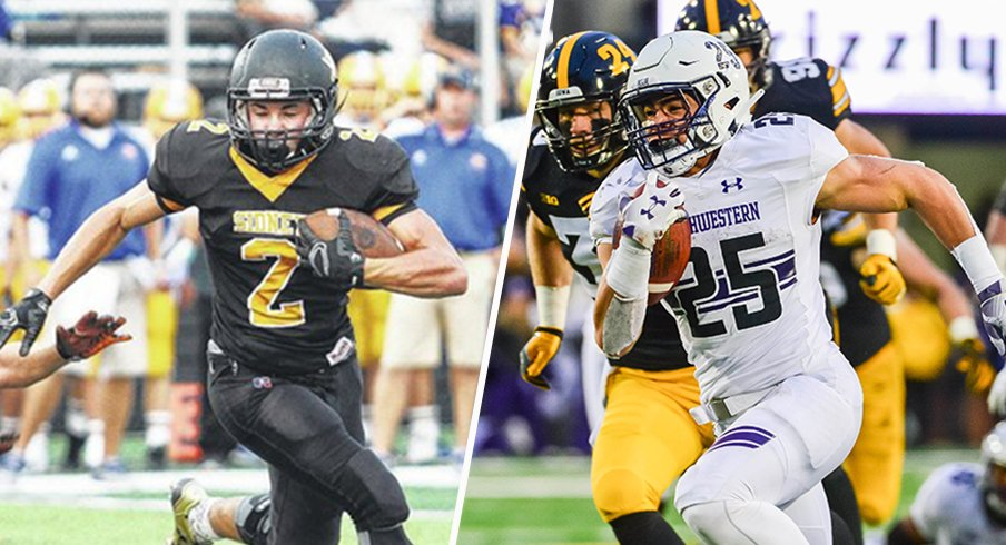Sidney's Isaiah Bowser has become the bell-cow back for Northwestern.