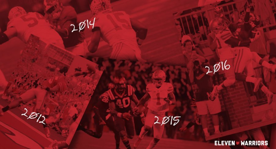 Vote now for the best play in Ohio State's regular season finale.