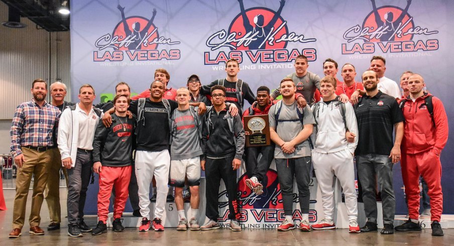 The 2017 Cliff Keen Las Vegas Invitational champions
