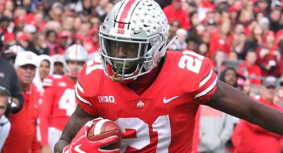 Parris Campbell breaks 1,000 yards.