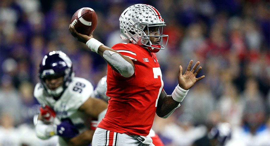 Dwayne Haskins took home MVP honors thanks to a superb showing in Indy.