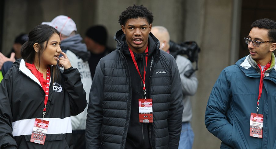 Five-star 2020 linebacker Mekhail Sherman lists Ohio State in top seven.