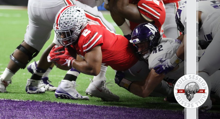 J.K. Dobbins finds paydirt in today's Skull Session.