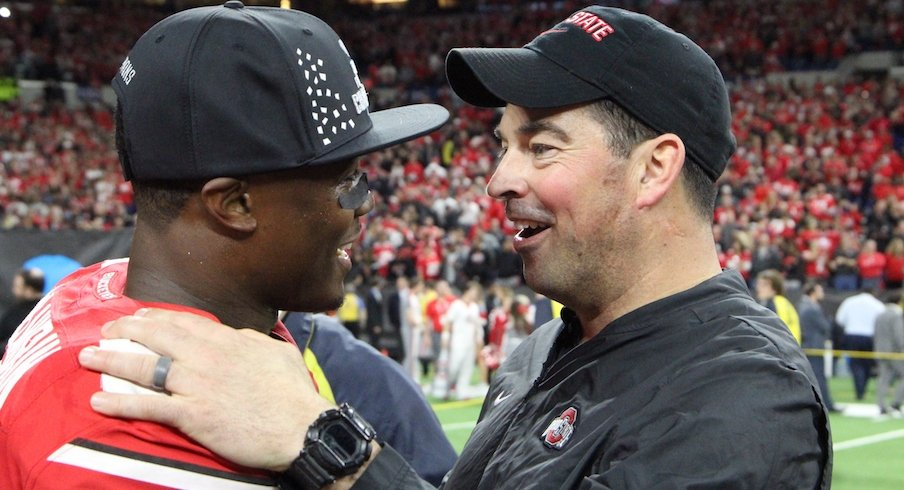 Terry McLaurin and Ryan Day