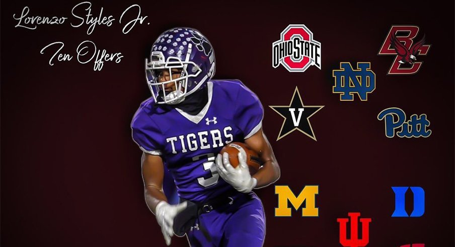 The Buckeyes extended an offer to legacy wideout Lorenzo Styles Jr. this week.
