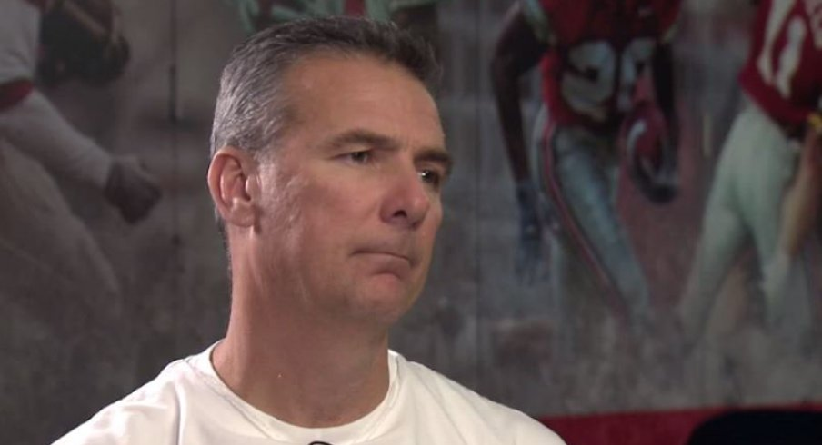 Urban Meyer said he would not have been able to leave without beating Michigan.