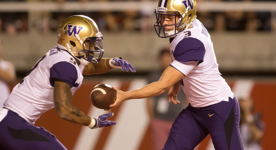 Jake Browning and Myles Gaskin anchor a Husky offense that has taken a step back in their senior season.