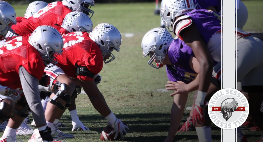 Ohio State faces off against the fake Washington Huskies in today's Skull Session.