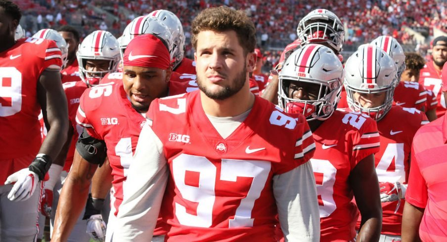 Ohio State defensive end Nick Bosa
