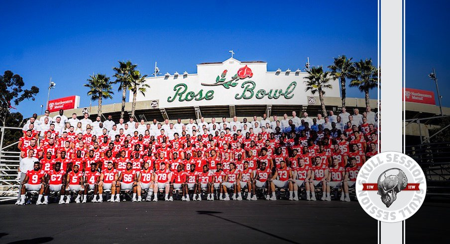 Hello, the Rose Bowl is the tomorrow.