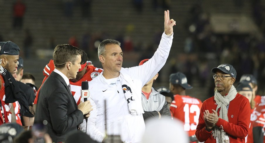 Urban Meyer Saying Goodbye to Buckeye Nation