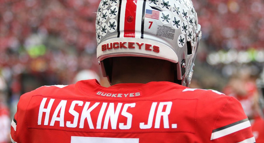 Dwayne Haskins owns every single-season Ohio State passing record.