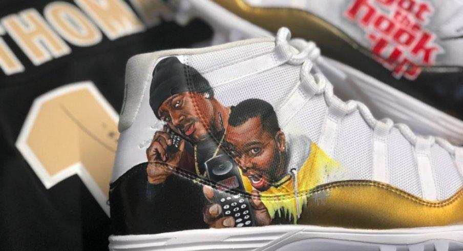 michael thomas' shoes