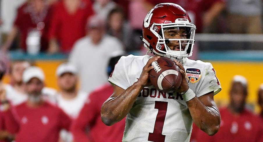Kyler Murray declares for the NFL Draft.