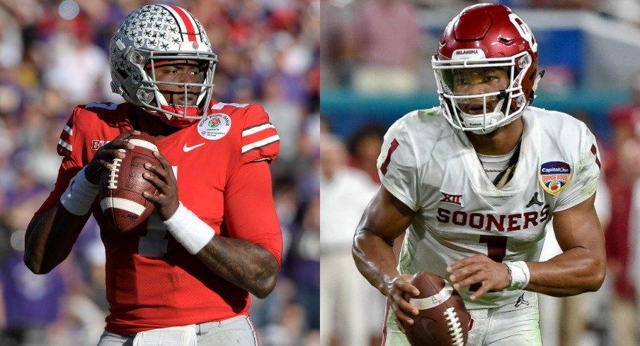 huge discount e7d4b b44dd 2019 NFL Draft Will Reignite Dwayne Haskins vs. Kyler Murray ...