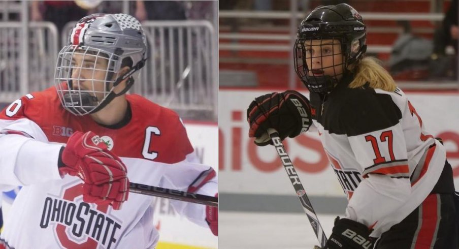 Mason Jobst and Emma Maltais lead their respective Buckeye teams in scoring.