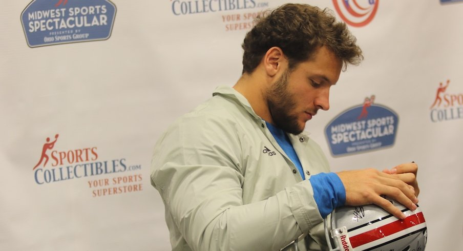 Nick Bosa at Midwest Sports Spectacular