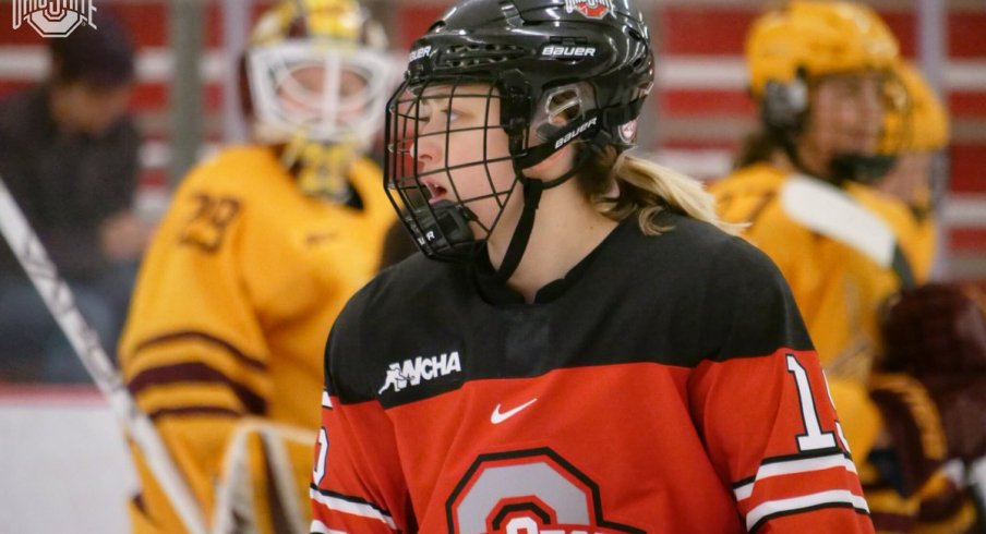 Gabby Rosenthal and the women's hockey Buckeyes dropped a second straight game to No. 2 Minnesota.