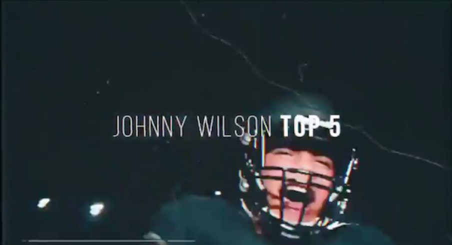Ohio State makes Johnny Wilson's top-five list.