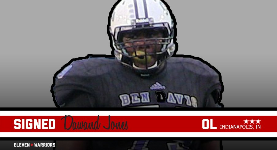 Three-star offensive tackle Dawand Jones is the final piece for Ohio States 2019 recruiting class.