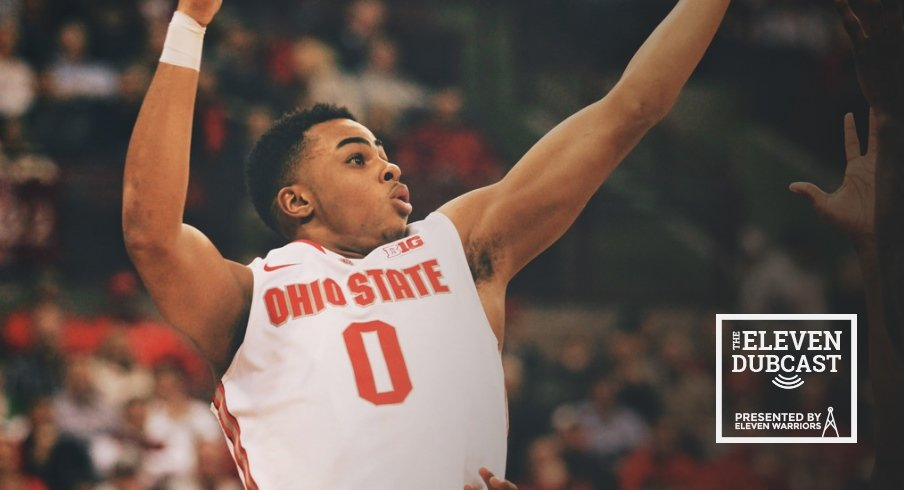 Former Ohio State men's basketball player D'Angelo Russell