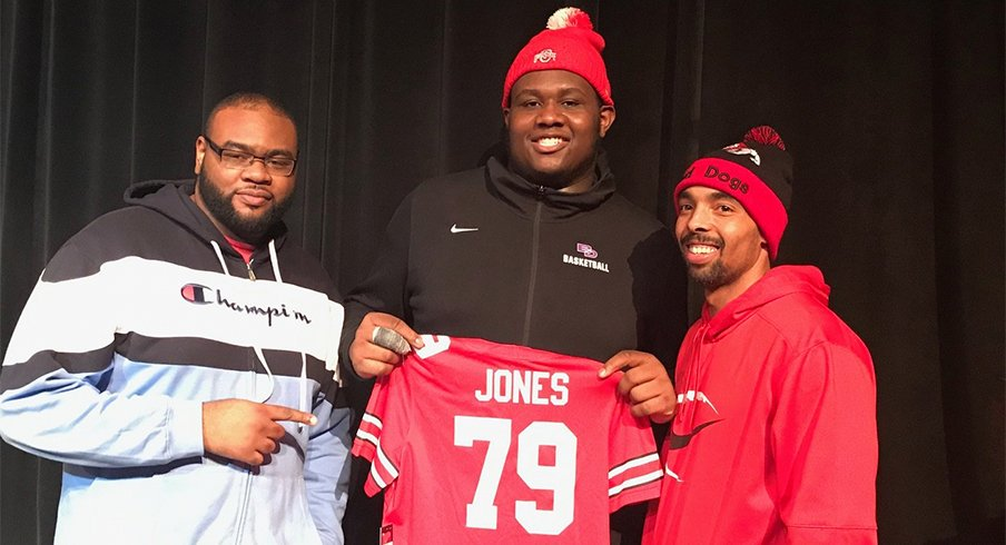 Dawand Jones' was Ohio State's lowest-rated signee for the 2019 class.