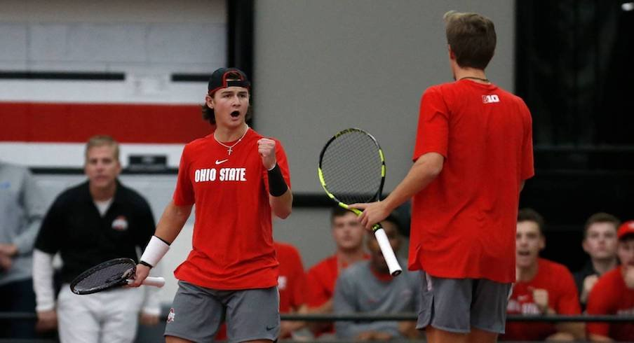Ohio State is the top tennis team in the land