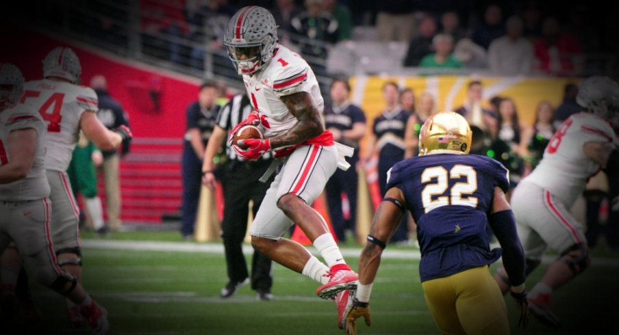 0ce855b93d3 Jan 1, 2016; Glendale, AZ, USA; Ohio State Buckeyes wide receiver