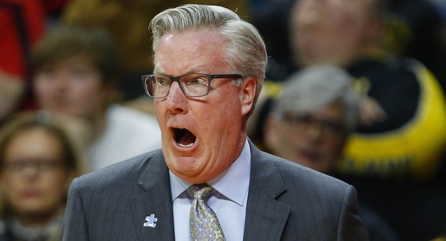 Fran McCaffery is suspended for the next two games.