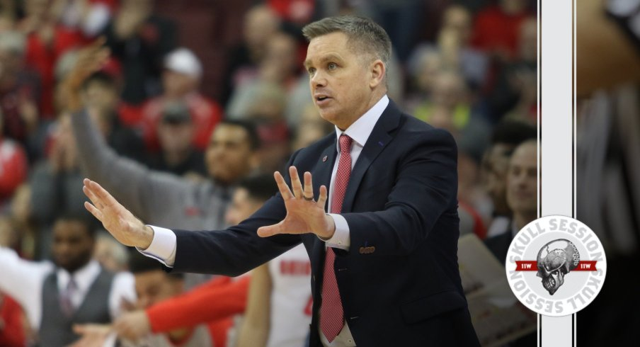 Chris Holtmann is urging folks to stay calm in today's Skull Session.