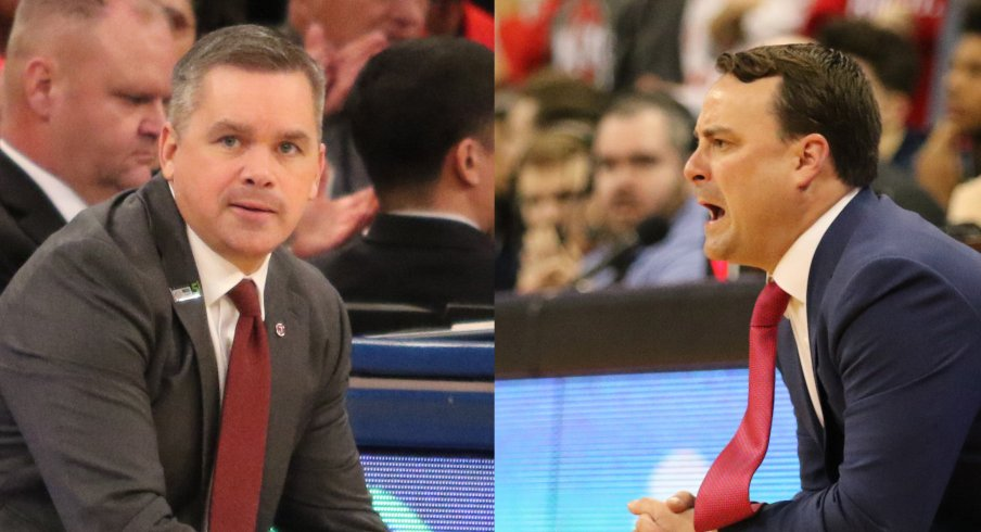 Through two seasons, Chris Holtmann has proven better than Archie Miller.