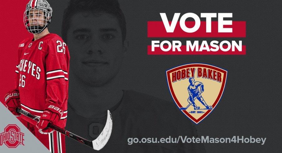 Mason Jobst, Buckeye captain and Hobey Baker Award semifinalist