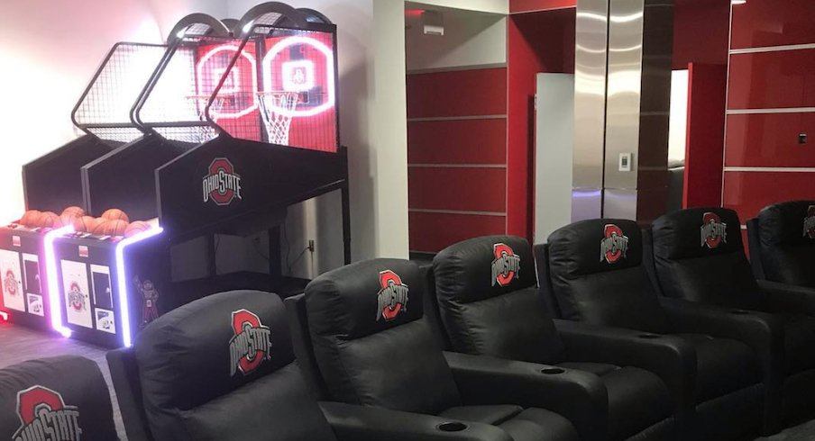 Part of the newly renovated East Wing at the Woody Hayes Athletic Center