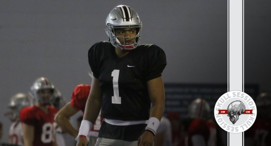 Justin Fields is ready to take over in today's Skull Session.