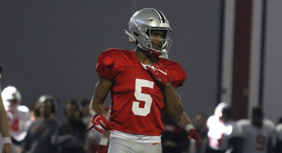 Garrett Wilson hopes to put on a show this weekend in the Shoe.