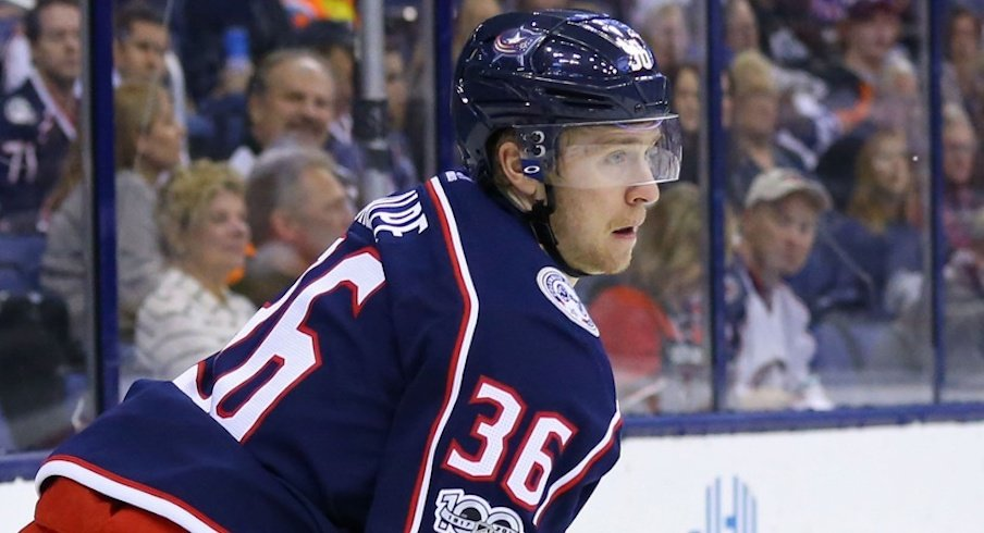 Zac Dalpe is heading to the blue jackets