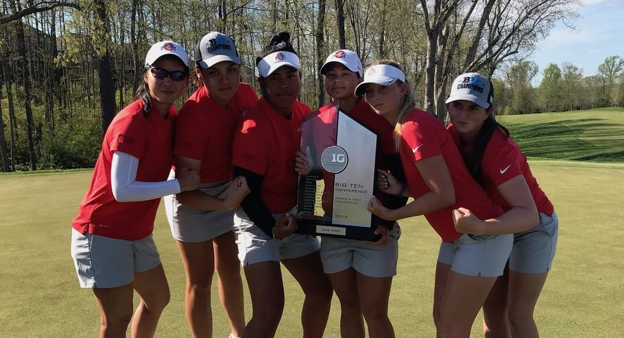 Ohio State women's golf claimed the Big Ten title.