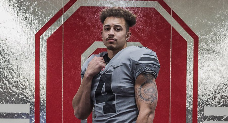 Five-star Julian Fleming is Brian Hartline's top remaining target at wideout.