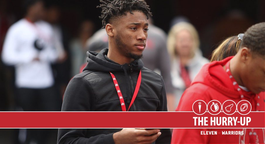 The Hurry Up: Sammy Anderson, Amir Taylor Reflect on Ohio State Spring Game Visits, Izayah Cummings Releases Top-six