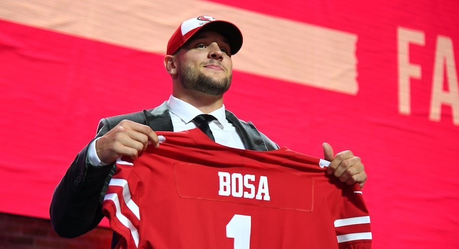 Nick Bosa is heading to San Francisco.