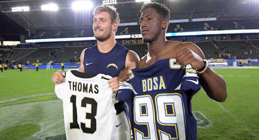 Michael Thomas and Joey Bosa