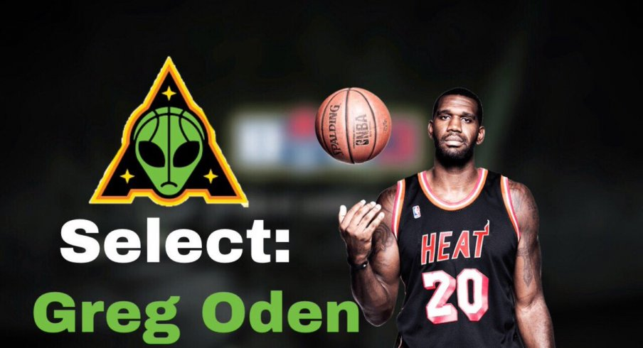 Greg Oden is an Alien.