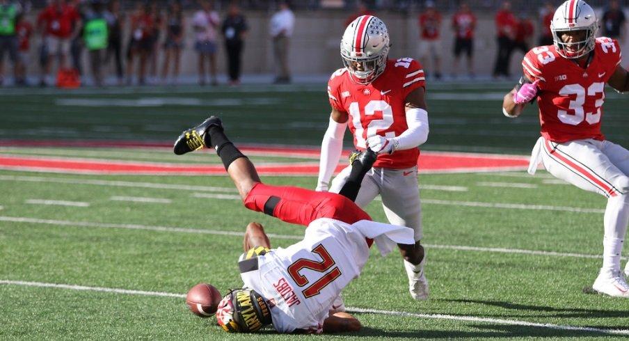 Ohio State defensive back Denzel Ward