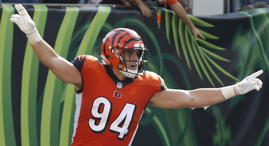 80c483d3241 Sam Hubbard Looking Forward to Second NFL Season with Bengals ...