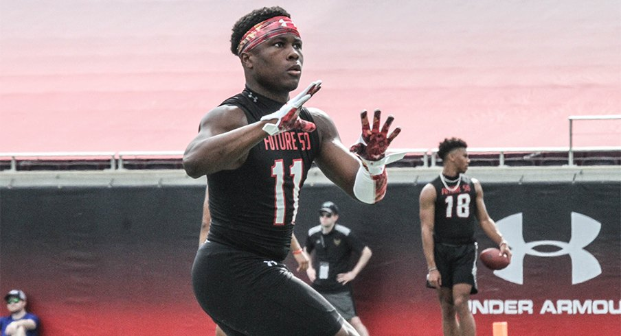 Four-star slot receiver Mookie Cooper is moving up Ohio State's recruiting board.